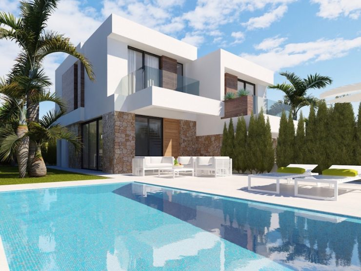 Semi-detached villa in Benidorm – Finestrat, Costa Blanca North, Alicante
