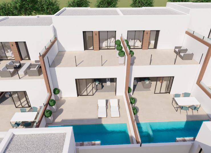 Attached Villa in Benijofar, Costa Blanca South, Alicante