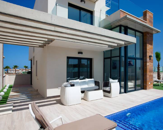 Villa in Lomas de Cabo Roig, Costa Blanca South, Alicante