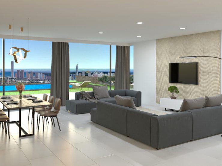 Luxury villa in Benidorm-Finestrat, Costa Blanca North, Alicante