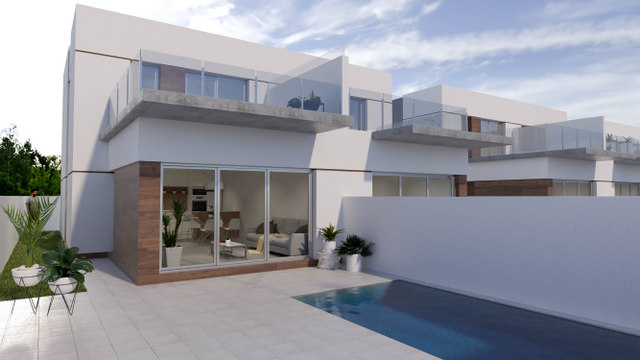 Semi-detached villa in Daya Vieja, Costa Blanca South, Alicante