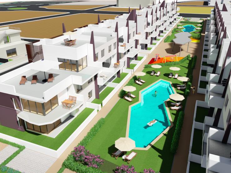 Top floor apartment in Mil Palmeras beach, Costa Blanca South, Alicante