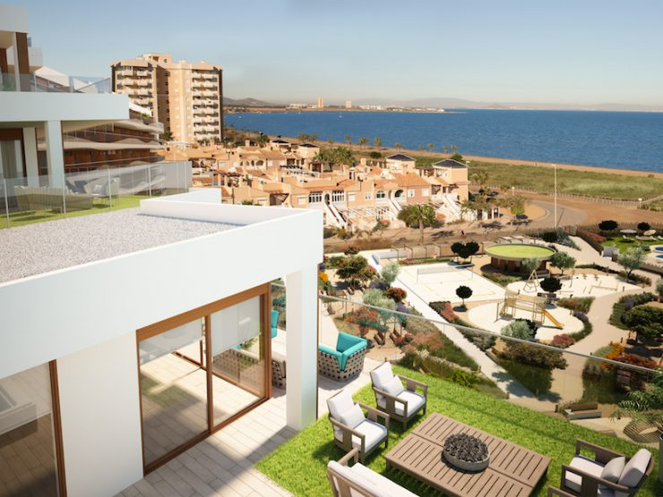 Luxury Penthouse with great sea views in La Manga, Costa Calida, Murcia