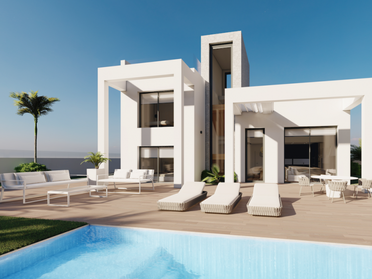 Luxury Villa in Finestrat-Benidorm, Costa Blanca North, Alicante, Spain