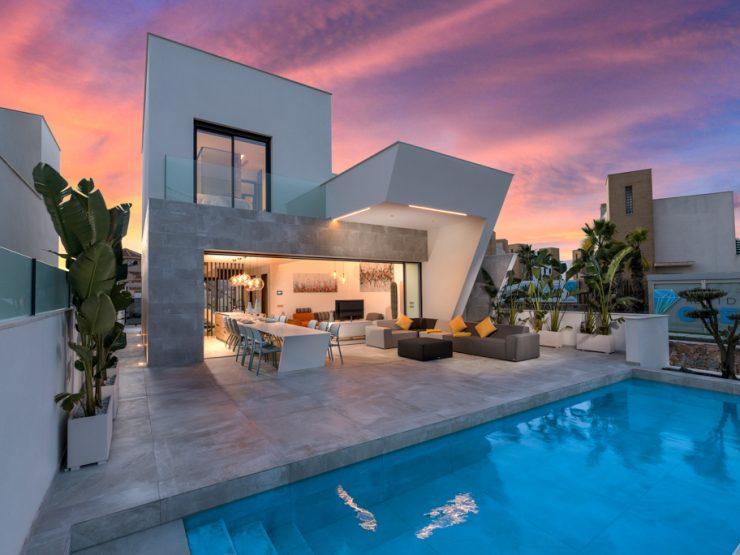 Luxury villa with sea views in Ciudad Quesada, Costa Blanca South, Alicante, Spain