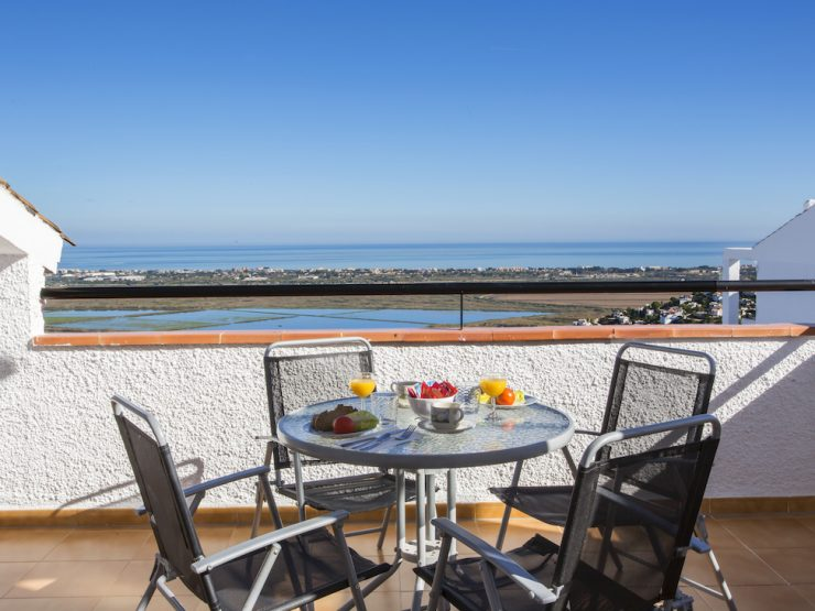 Apartment with sea views in Monte Pego, Costa  Blanca North, Alicante, Spain