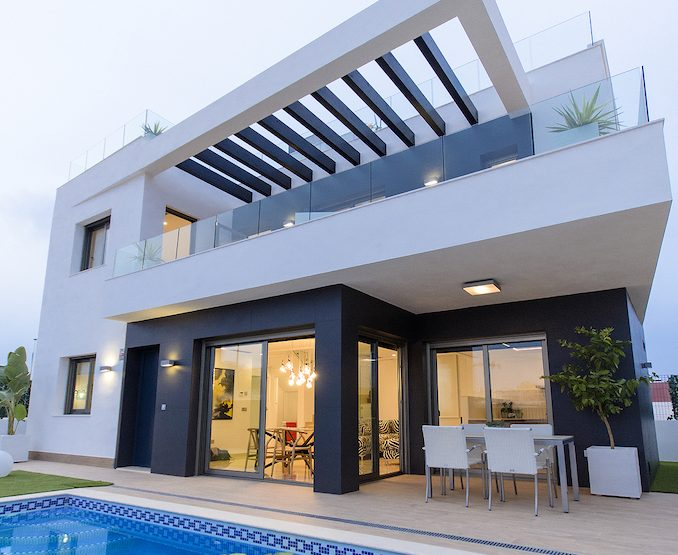 Minimalist villa in Algorfa, Costa Blanca South, Alicante, Spain