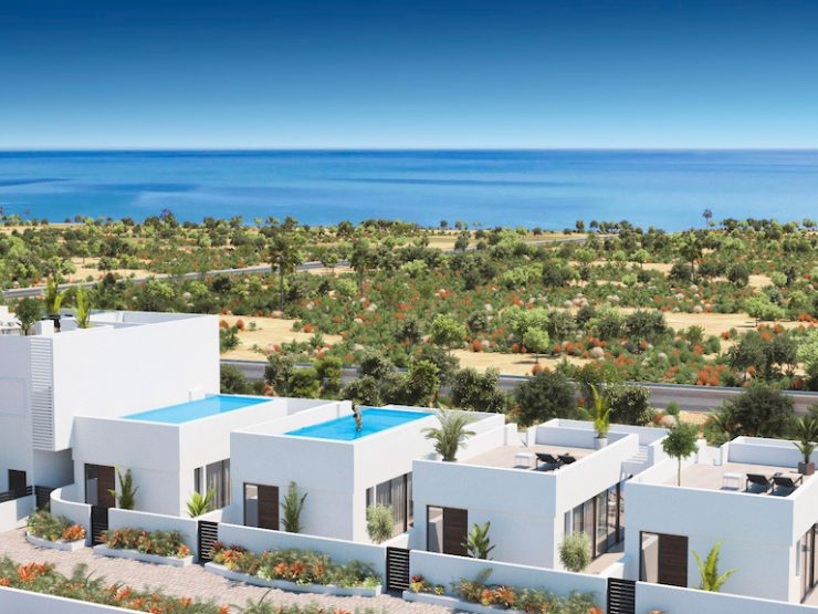 Modern villa with sea views in Guardamar del Segura, Costa Blanca South, Alicante, Spain