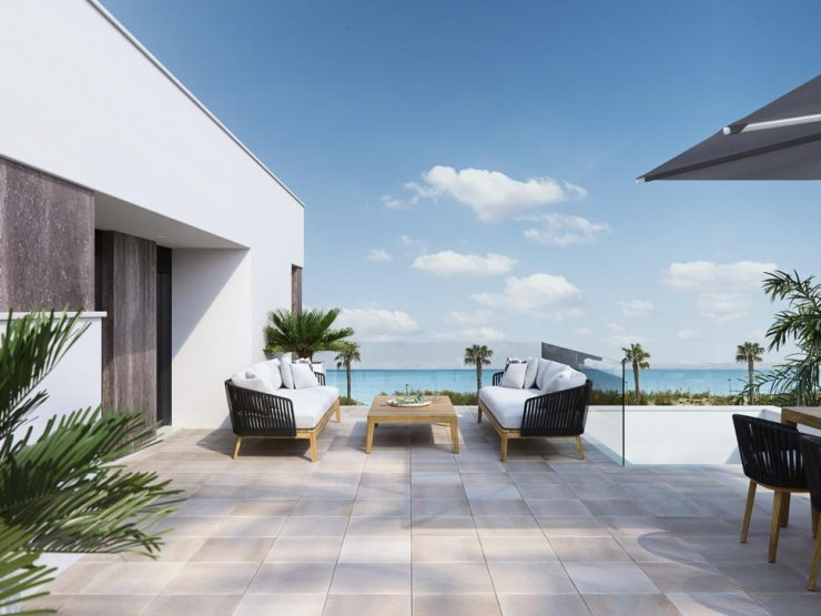 Luxury villa with sea views in Pilar de la Horadada, Costa Blanca South, Alicante, Spain