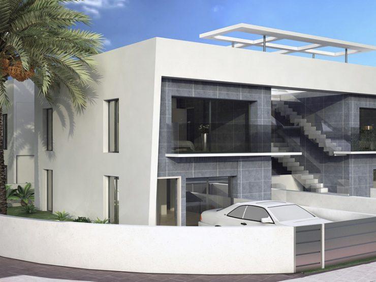 Apartamento minimalista en planta baja en Gran Alacant, Costa Blanca Sur, Alicante, España