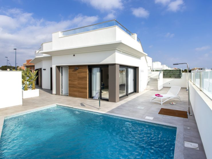 Modern villa in Roda, Costa Calida, Murcia, Spain