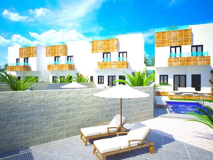 Maison individuelle avec vue sur la mer à Polop, Costa Blanca Nord, Alicante, Espagne