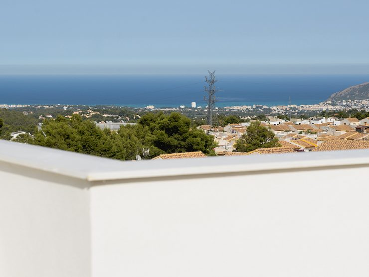 Modern detached villa in Polop, Costa Blanca North, Alicante, Spain
