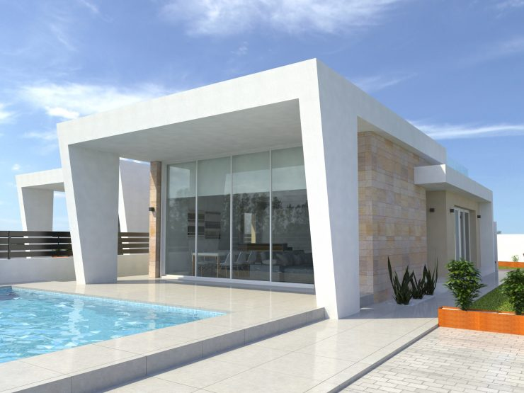 Modern villa in Torrevieja, Costa Blanca South, Alicante, Spain
