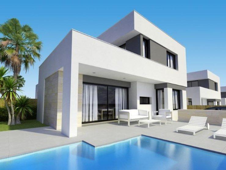 Modern villa in Villamartin with basement, Costa Blanca South, Alicante, Spain