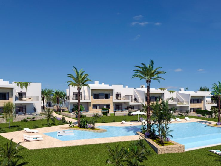 Modern top floor apartment with solarium in golf course Pilar de la Horadada, Costa Blanca South, Alicante