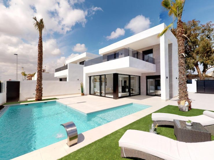 Outstanding modern villa walking distance to the beach in San Javier, Costa Calida, Murcia, Spain