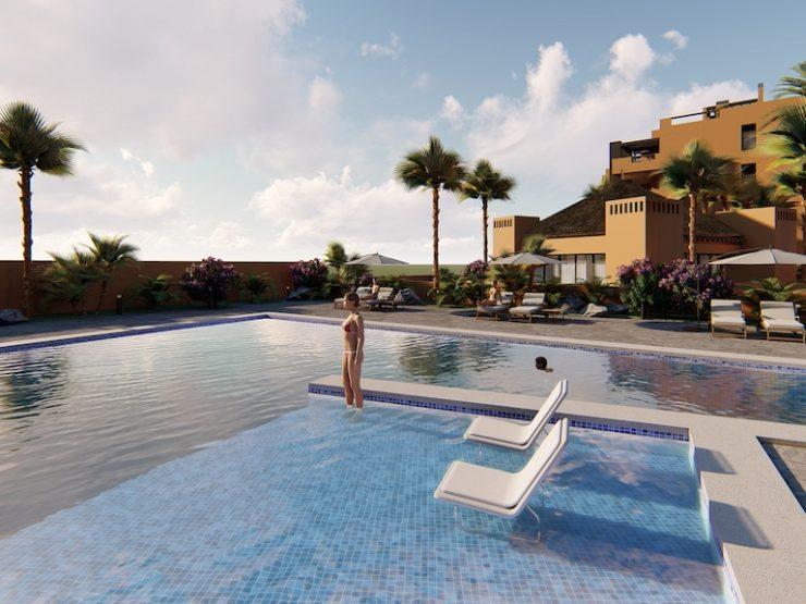 Outstanding penthouse with sea views in Villamartin, Costa Blanca South, Alicante, Spain