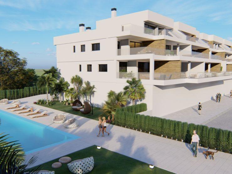Ático de lujo con vistas al mar en Lomas de Campoamor, Costa Blanca Sur, Alicante, España