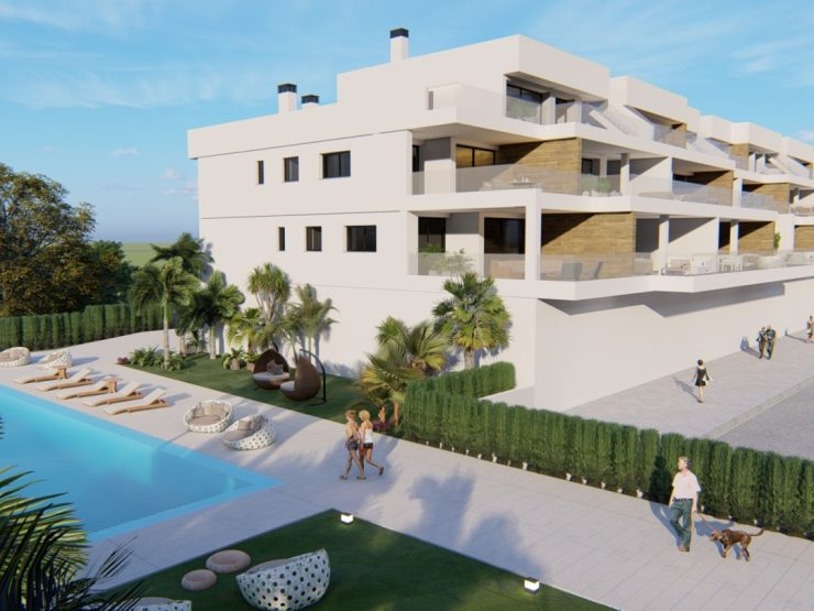 Penthouse de luxe avec vue sur la mer à Lomas de Campoamor, Costa Blanca Sud, Alicante, Espagne