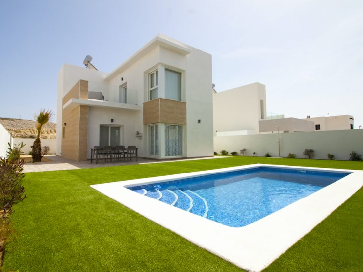 Minimalist villa for sale in Ciudad Quesada, Costa Blanca South, Alicante, Spain