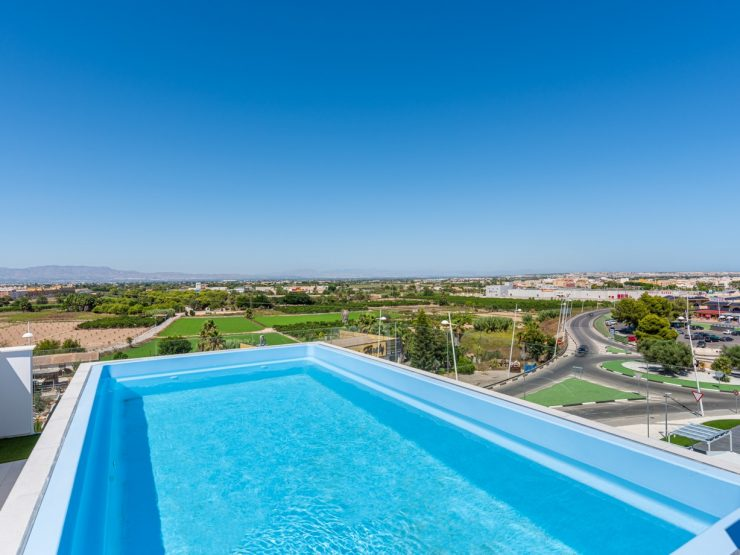 Beautiful new modern apartment with nice views in Benijofar, Costa Blanca South, Alicante