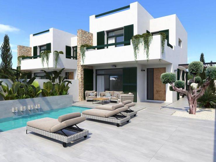 Minimalist Villa in Daya Nueva, Costa Blanca South, Alicante, Spain