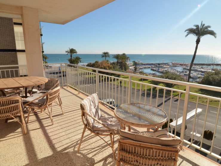 Apartment front line with great sea views in Campoamor, Costa Blanca South, Alicante, Spain