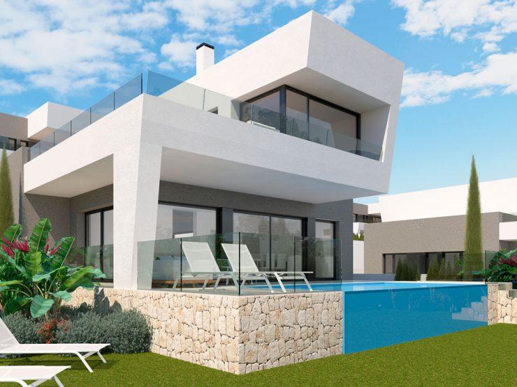 Villa de luxe avec d'excellentes vues sur la mer à Polop, Costa Blanca Nord, Alicante, Espagne