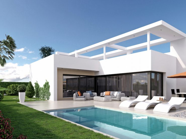 Luxury modern villa in Benijofar, Costa Blanca South, Alicante, Spain