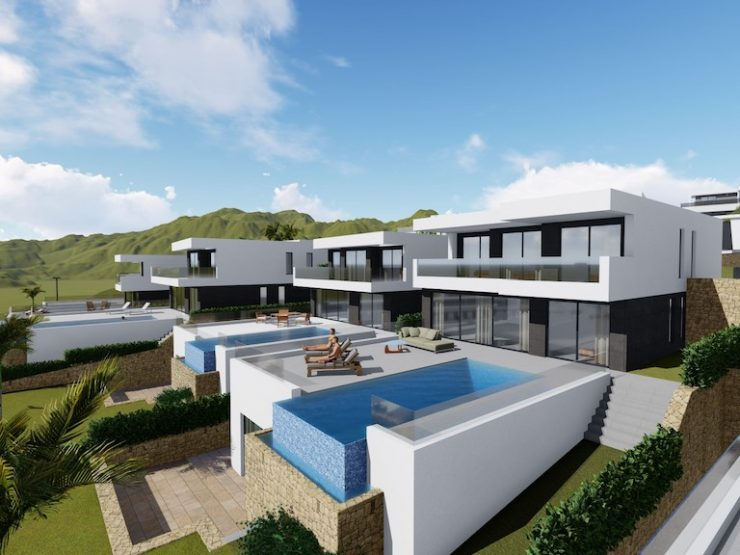 Outstanding Luxury villa with great sea and mountain views in Finestrat, Costa Blanca North, Alicante, Spain
