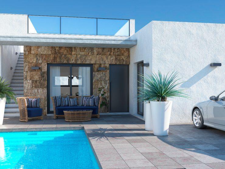 Minimalist villa in Formentera del Segura-Rojales, Costa Blanca South, Alicante, Spain
