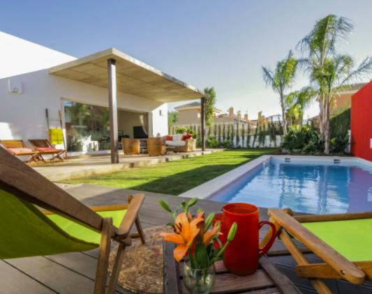 Beautiful minimalist villa close to the beach in Mar de Cristal, Costa Calida, Murcia, Spain