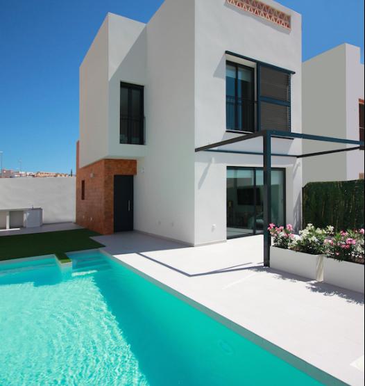 Modern classic style detached villa in Benijofar, Costa Blanca South, Alicante, Spain
