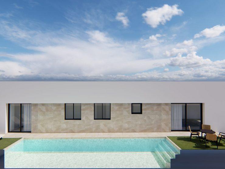 Villa unifamiliar minimalista en Daya Nueva, Costablanca Sur, Alicante, España