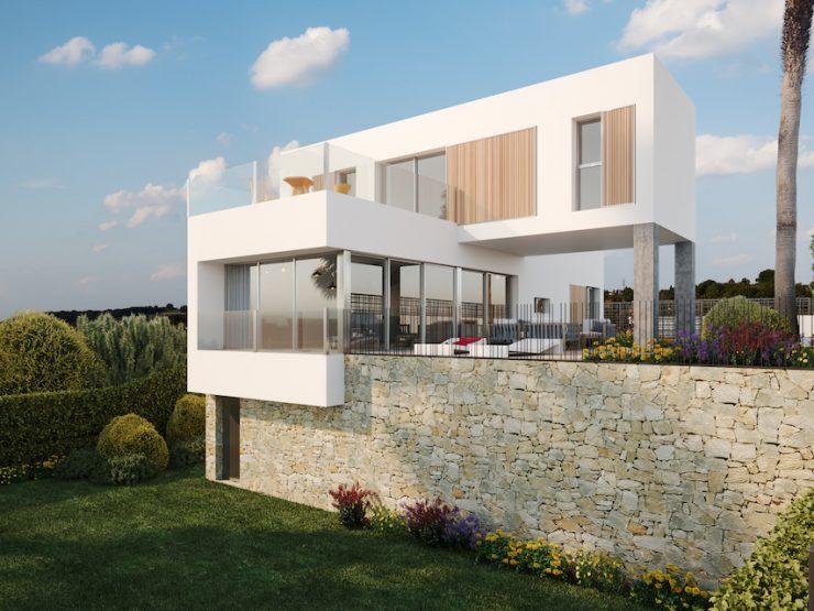 Chalet de lujo minimalista con vistas al golf en Algorfa, Costa Blanca Sur, Alicante, España