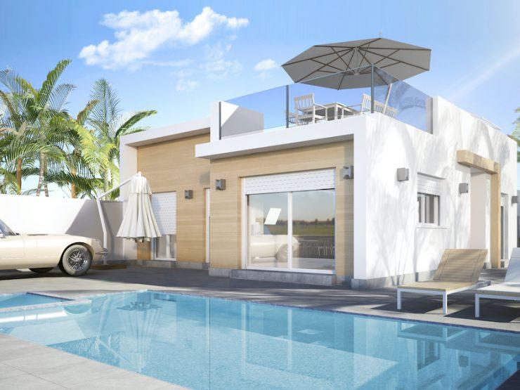Minimalist Luxury villa in Avileses, Murcia, Costa Calida, Spain
