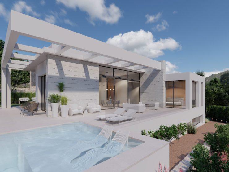 Villa minimalista de lujo en Orihuela Costa, Campo de Golf, Costa Blanca Sur, Alicante, España