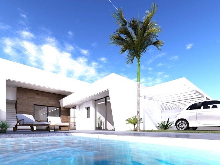Outstanding modern attached villa in Roldan, Murcia, Costa Calida, Spain