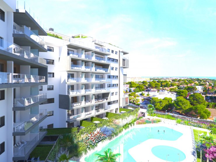 New apartment with great sea views in Campoamor, Costa Blanca South, Alicante, Spain