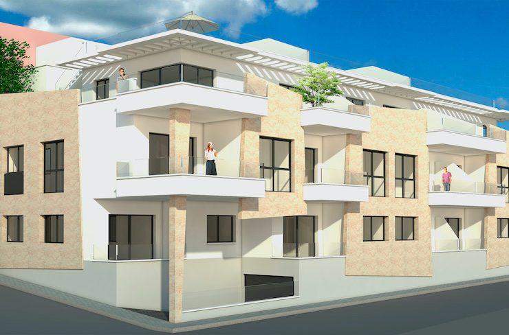 Apartment next to the beach in Torre de la Horadada, Costa Blanca South, Alicante, Spain