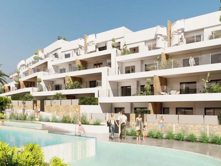 Fantastic penthouse with sea views in Lomas de Campoamor, Costa Blanca South, Alicante, Spain