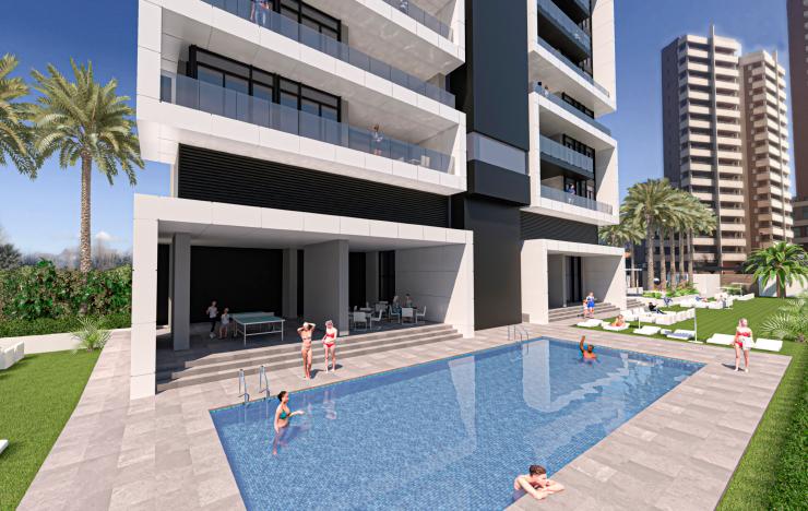 Outstanding new Penthouse in Benidorm, Costa Blanca North, Alicante, Spain