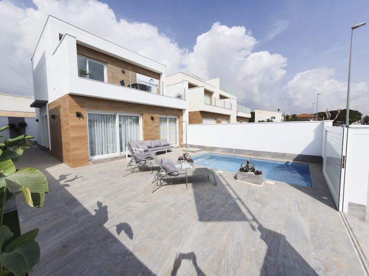 Outstanding modern style villa in Pilar de la Horadada, Costa Blanca South, Alicante, Spain