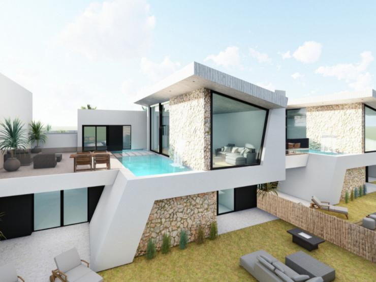 Outstanding modern style villa front line to golf course in Ciudad Quesada, Costa Blanca South, Alicante, Spain
