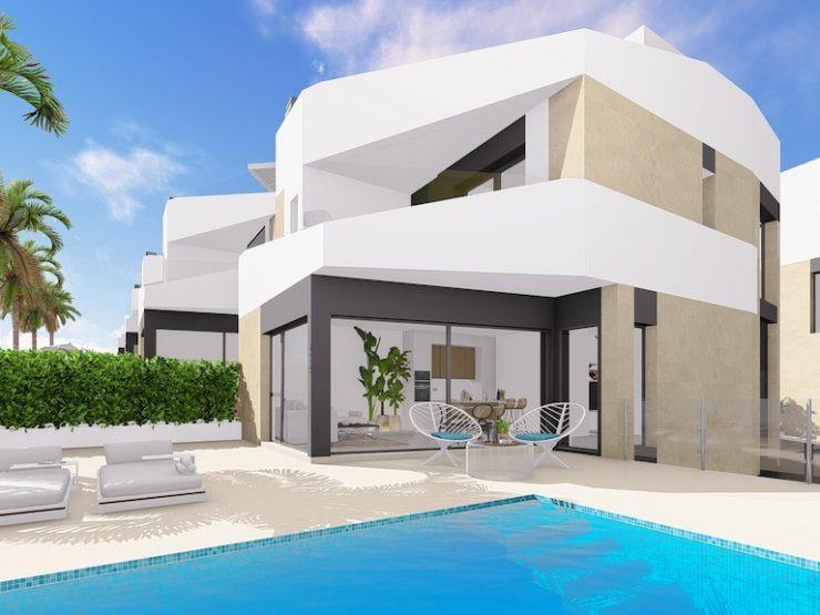 Beautiful villa in Orihuela Costa, Costa Blanca South, Alicante, Spain